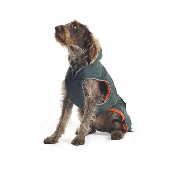 Ancol Navy Parka Dog Coat